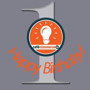 Happy 1st Birthday Cafe Commerce